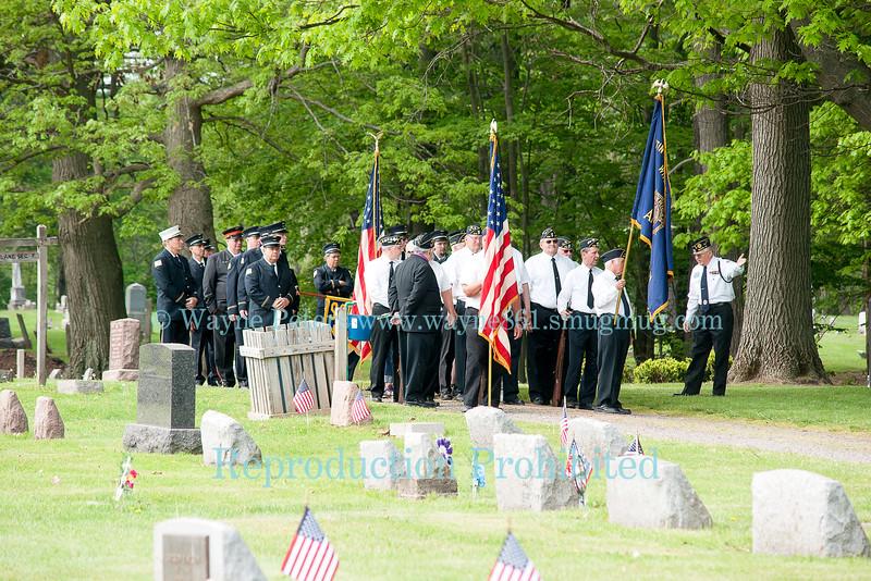 Memorial Day 2015 in Wilson, NY.