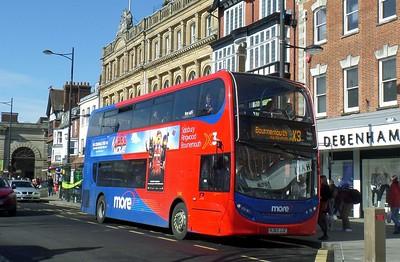 1540 - HJ63JJZ - Salisbury (Blue Boar Row) - 1.3.14