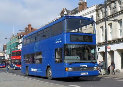 1654 - R154NPR - Salisbury (Blue Boar Row)