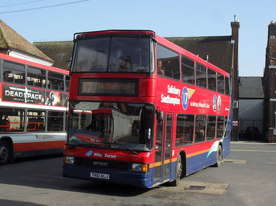 1660 - T160ALJ -Salisbury (bus station) - 4.3.11