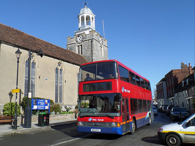 1664 - W164RFX - Lymington (high street) - 20.2.14