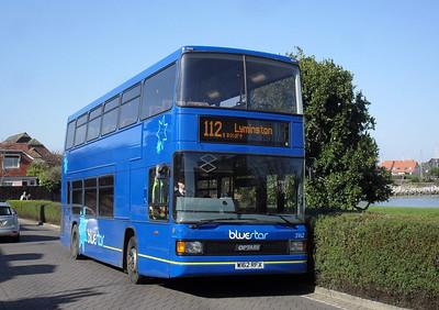 1662 - W162RFX - Hythe (Prospect Place) - 7.3.11  Operated under BlueStar branding by Wilts & Dorset