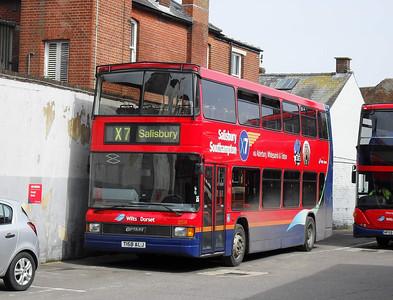 1658 - T158ALJ - Salisbury (bus station) - 24.3.10