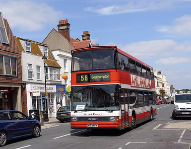 1663 - W163RFX - Lymington (High St) - 10.6.08