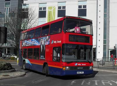 1666 - W166RFX - Poole (Kingland Rd) - 19.3.11