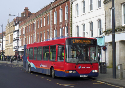 3406 - YG52CEN - Salisbury (Blue Boar Row) - 1.3.14