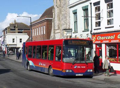 3406 - YG52CEN - Salisbury (Fisherton St) - 1.3.14