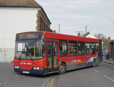 3406 - YG52CEN - Salisbury (Rollestone St) - 10.3.12