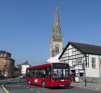2708 - YX64VOK - Salisbury (Fisherton St)