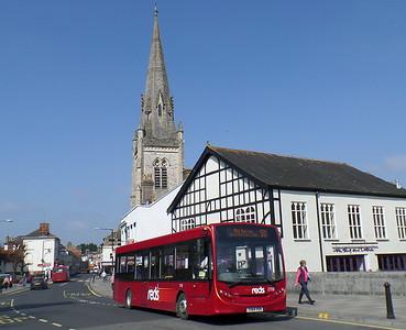2706 - YX64VOH - Salisbury (Fisherton St)