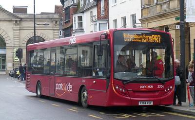 2704 - YX64VOF - Salisbury (Blue Boar Row)
