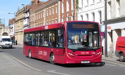 2702 - YX64VOC - Salisbury (Blue Boar Row)