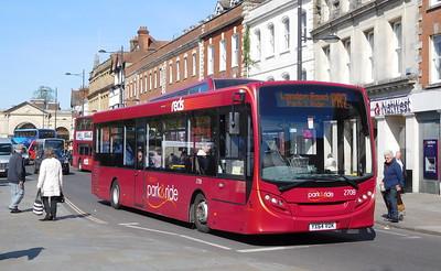 2708 - YX64VOK - Salisbury (Blue Boar Row)