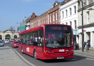 2703 - YX64VOD - Salisbury (Blue Boar Row)