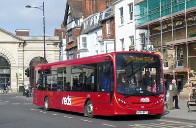 2722 - HF64BPZ - Salisbury (Blue Boar Row)