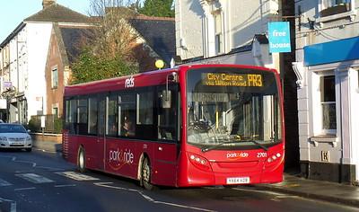 2701 - YX64VOB - Salisbury (Fisherton St)