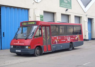 2241 - P241CTV - Barton Park depot (BlueStar) - 29.2.08