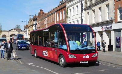 3833 - HF15BMV - Salisbury (Blue Boar Row)