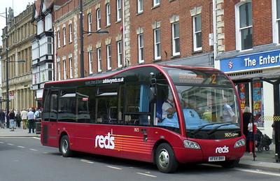 3825 - HF64BNV - Salisbury (Blue Boar Row)