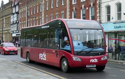 3826 - HF64BNX - Salisbury (Blue Boar Row)