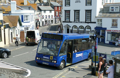 3705 - NT05NBM - Lyme Regis - 25.7.14