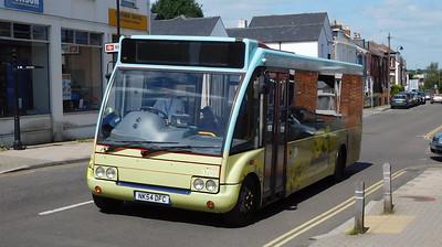 3703 - NK54DFC - Lymington (Gosport St)