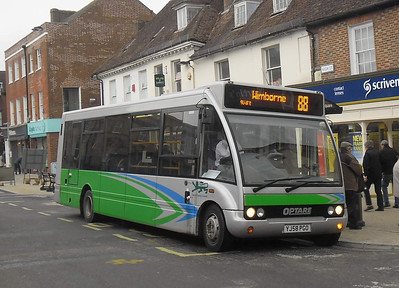 3719 - YP58PGO - Wimborne - 14.4.12