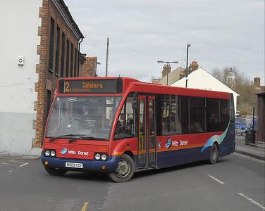 3754 - MX03YDD - Salisbury (Rollestone St) - 10.3.12