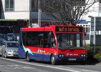 3704 - NK54DFD - Poole (Kingland Rd) - 19.3.11