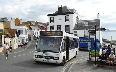 3705 - NT05NBM - Lyme Regis - 27.7.13