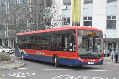 2505 - YJ56WUE - Poole (Kingland Rd) - 4.4.12
