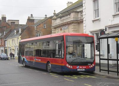 2508 - YJ56WVU - Wimborne (town centre) - 14.4.12