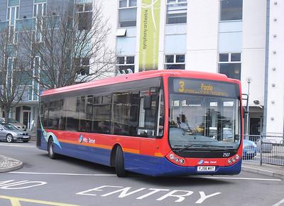 2507 - YJ56WVT - Poole (Kingland Rd) - 4.4.12