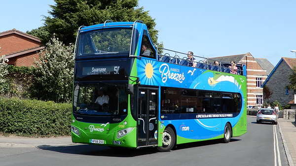 1708 - HF66DSO - Swanage (Kings Road)