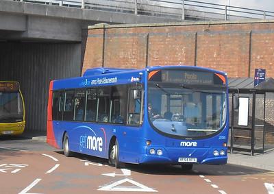 2206 - HF54HFV - Bournemouth (Interchange/rail station) - 4.4.12