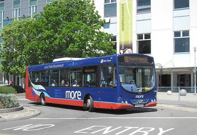 2201 - HF54HFO - Poole (Kingland Rd) - 26.5.12