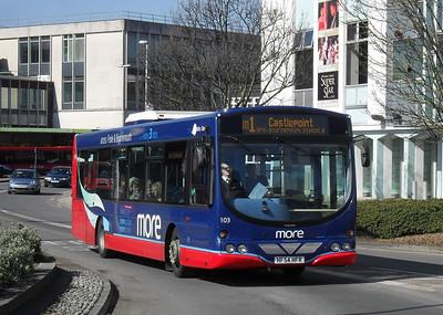 2203 - HF54HFR - Poole (Kingland Rd) - 19.3.11