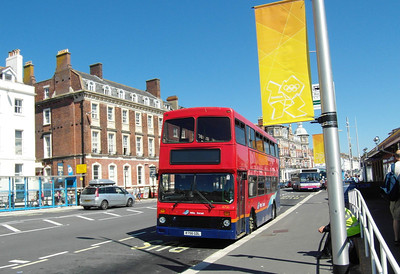 4756 - R756GDL - Weymouth (King's Statue) - 24.7.12