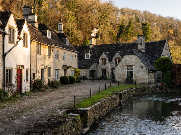 Castle Combe in winter
