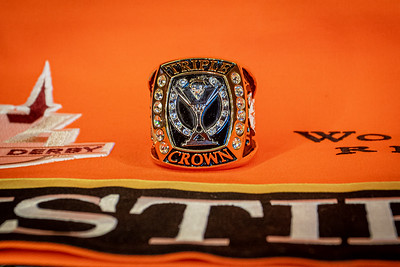 Owners Triple Crown Ring from Justify