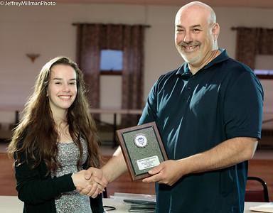"""slugger"" Award:  Maria Polcari"