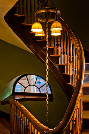 Spiral Staircase, Handley Library, Winchester, Virginia