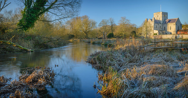 River Itchen and Hospital of St Cross