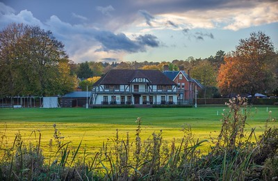 Winchester College Cricket Pavilion