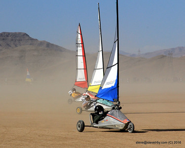 NABSA Blokart Sailing Events - Ivanpah 2008 to present
