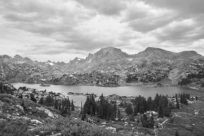 Island Lake, 10,346'