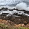 wave worn rocks