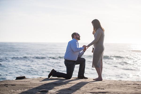 Windansea Proposal | San Diego Wedding Photographer