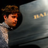 KRISTOPHER RADDER — BRATTLEBORO REFORMER<br /> Roger Mensa plays the piano during the third annual Windham County's Got Talent that was presented by the Brattleboro Reformer on Thursday, Jan. 30, 2020.