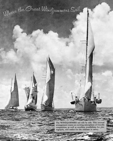 Sailing on Windjammer boats in the '60s